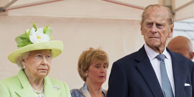 La reine Elizabeth II et le prince Philip, le 28 juin 2016.