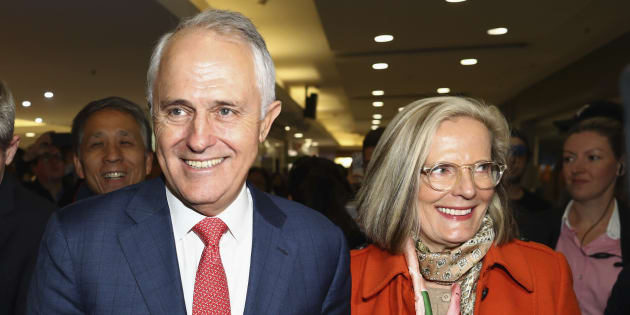 The Liberal Party has had to apologise to Lucy Turnbull.