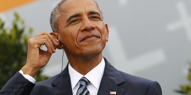 アメリカ前大統領のバラク・オバマ氏(撮影=2017年5月25日)