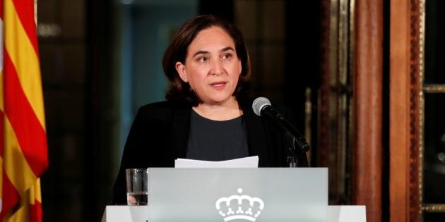 Catalogne: Ada Colau, la maire de Barcelone contre une déclaration unilatérale d'indépendance