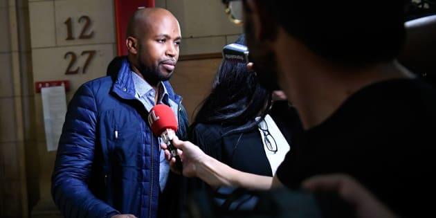 Le rappeur Rohff au tribunal correctionnel de Paris le 29 septembre.