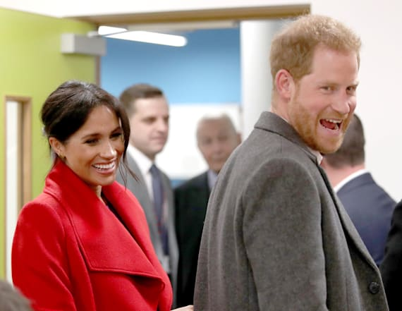 Meghan and Harry chose this color for baby's nursery