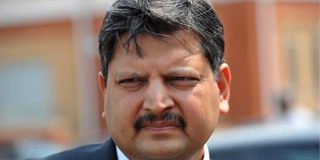 Atul Gupta outside the Randburg Magistrate's Court in 2010.