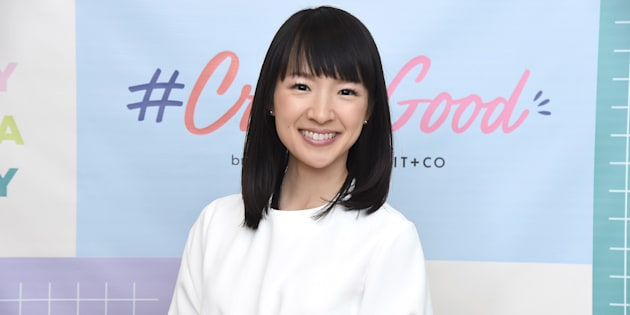 Organizing consultant and author Marie Kondo in New York City on Oct. 18, 2018.