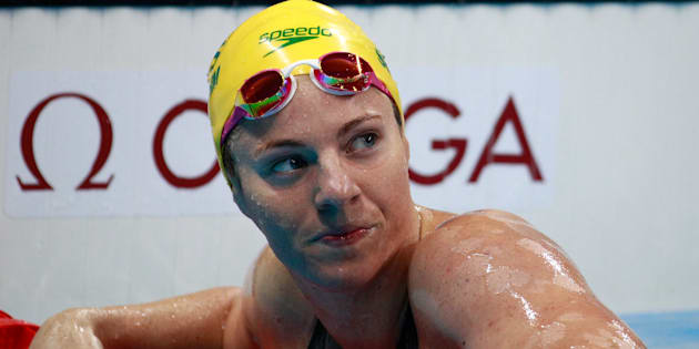 Emily Seebohm won a relay medal, but did nothing in the two individual backstroke events in which she was world champion.