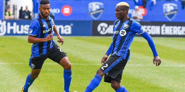 Anthony Jackson-Hamel  et Ambroise Oyongo
