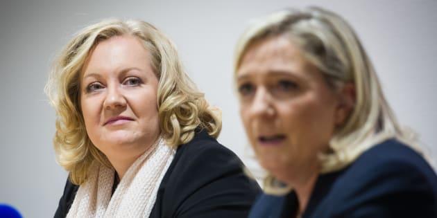 En plein débat sur la refondation du FN, Marine Le Pen évince Sophie Montel, une historique proche de Philippot.