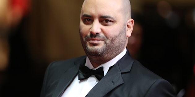 Jérôme Commandeur à la 41eme cérémonie des César le 26 février 2016.