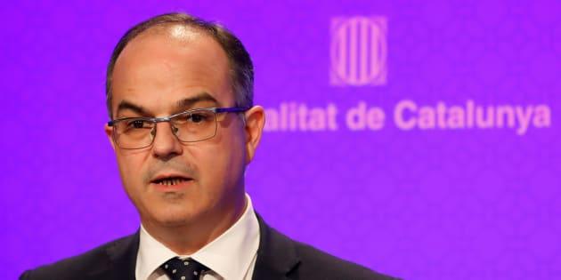 Jordi Turull cuando era conseller de la presidencia de la Generalitat. REUTERS/Gonzalo Fuentes
