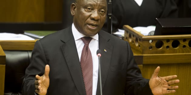 "President Cyril Ramaphosa's maiden state of the nation address is driven by the message: ""Send Me""."