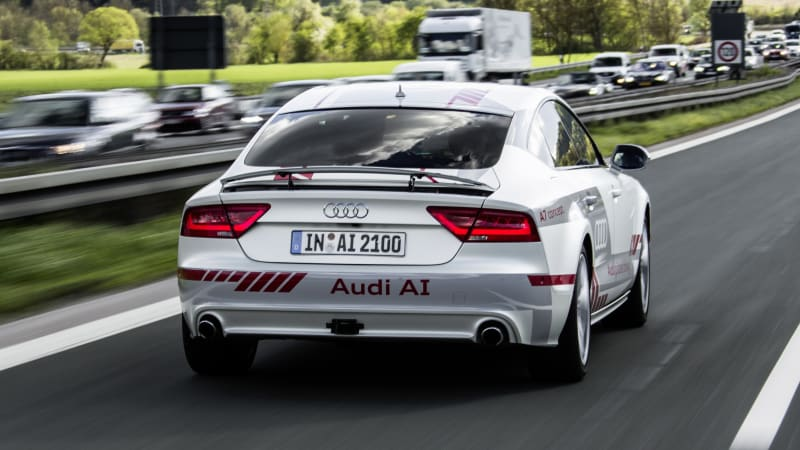 How Audi Will Make Roads Friendlier To Autonomous Cars Autoblog - What company makes audi cars