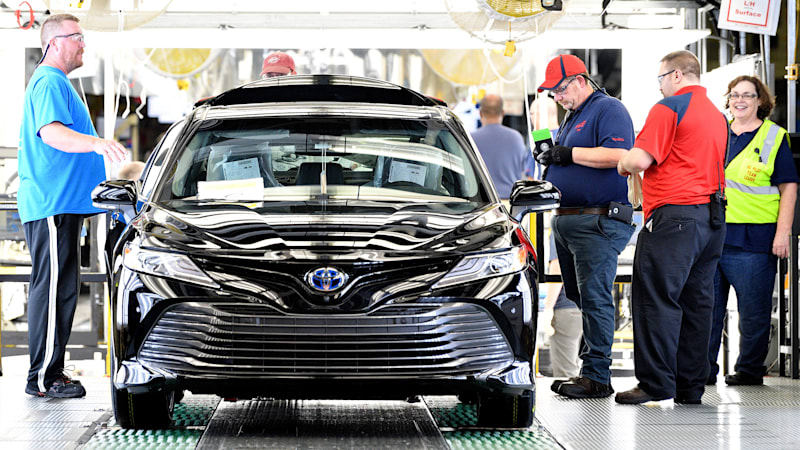 Toyota puts US workers on alert: made-in-Japan Camrys are cheaper