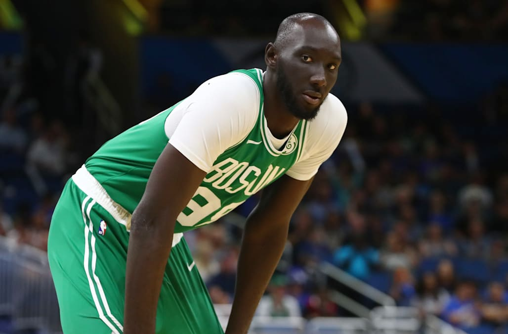 Fans Are Voting For Tacko Fall To Make The Nba All Star Game