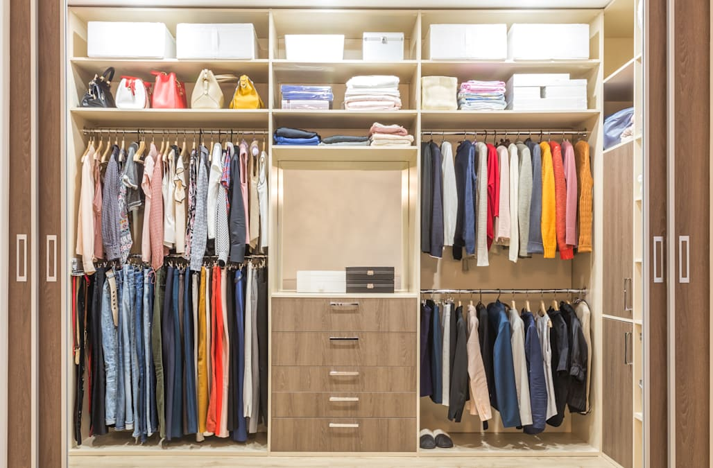This Wardrobe Hack Will Free Up Tons Of Space In Your Closet