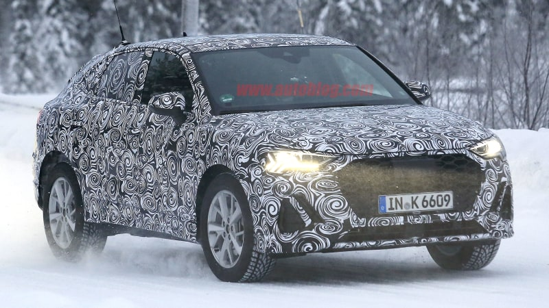 2020 Audi Q4 spy shots give us our clearest look at the crossover