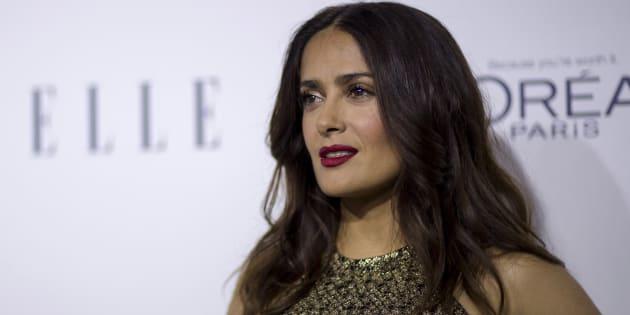 """Salma Hayek confie à son tour avoir été harcelée par Weinstein: """"il était mon monstre"""""""