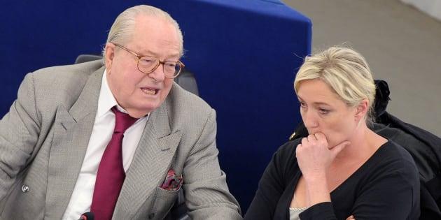 La réaction délirante de Jean-Marie Le Pen au lancement de campagne de sa fille
