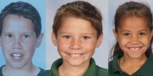 """The three children who went missing on Wednesday night have been found """"safe and well""""."""