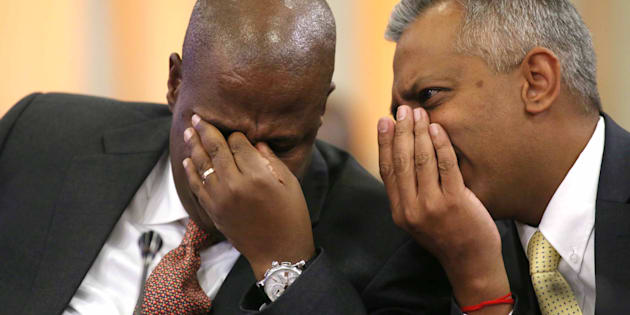 DA MP Natasha Mazzone said a chain of the leaked emails reveal that Anoj Singh, currently Eskom's CFO, was whisked off on at least four suspiciously timed Gupta-funded trips to Dubai.