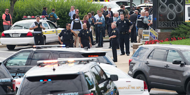 "Fusillade au ""Capital Gazette"" dans le Maryland, 5 morts"