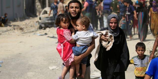 100.000 niños viven en situación de riesgo en Mosul — UNICEF