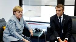 Macron à Berlin pour plaider ses espoirs d'une Europe de la défense (et c'est pas