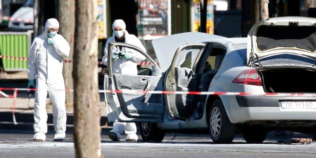 Ce que l'on sait de l'islamiste radicalisé derrière l'attentat raté desChamps-Élysées