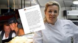 Le joli message d'Hélène Darroze à son amie Laeticia Hallyday pour son