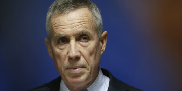 François Molins (ici en novembre 2015) bientôt remplacé: l'intervention de l'Élysée dans le choix de son successeur agace les syndicats.