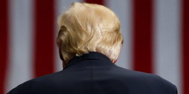 Donald Trump à Youngstown, dans l'Ohio, le 25 juillet.