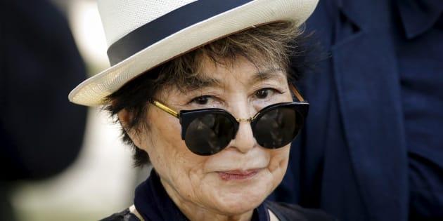 A 85 ans, l'artiste japonaise Yoko Ono continue toujours son combat pour la paix dans le monde.