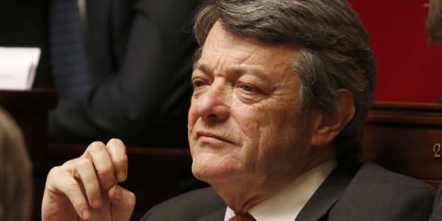 """Jean-Louis Borloo, ici en avril 2013 à l'Assemblée nationale, dit vouloir """"aider"""" Emmanuel Macron."""