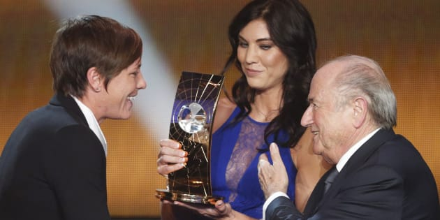 Hope Solo accuse Sepp Blatter d'agression