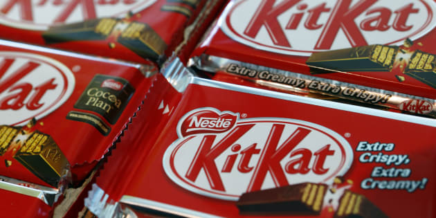 Les Kit Kat ont un grand succès en Angleterre.
