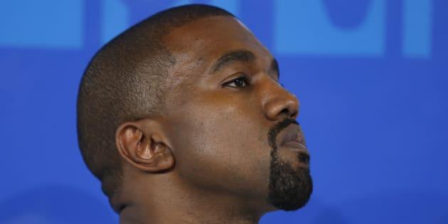Le rappeur Kanye West aux MTV Video Music Awards à New York, le 28 août 2016.