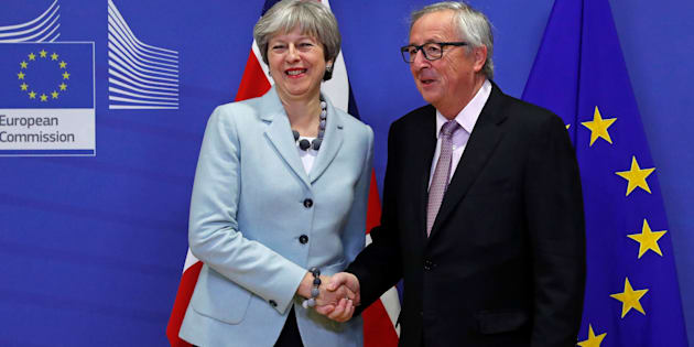Brexit |  accordo tra Ue e Gran Bretagna  May |   Non è stato facile |  ma abbiamo