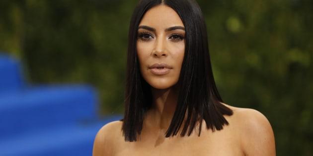 Kim Kardashian au gala du MET le 1er mai 2017.