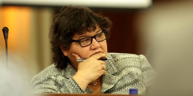 CAPE TOWN, SOUTH AFRICA � MAY 30: Public Enterprise Minister Lynne Brown during a meeting with Parliament�s Standing Committee on Public Accounts (SCOPA) on May 30, 2017 in Cape Town, South Africa. The Eskom delegation appeared before Scopa to explain how coal contracts were awarded to the Gupta-linked Tegeta company. (Photo by Gallo Images / Sowetan / Esa Alexander)