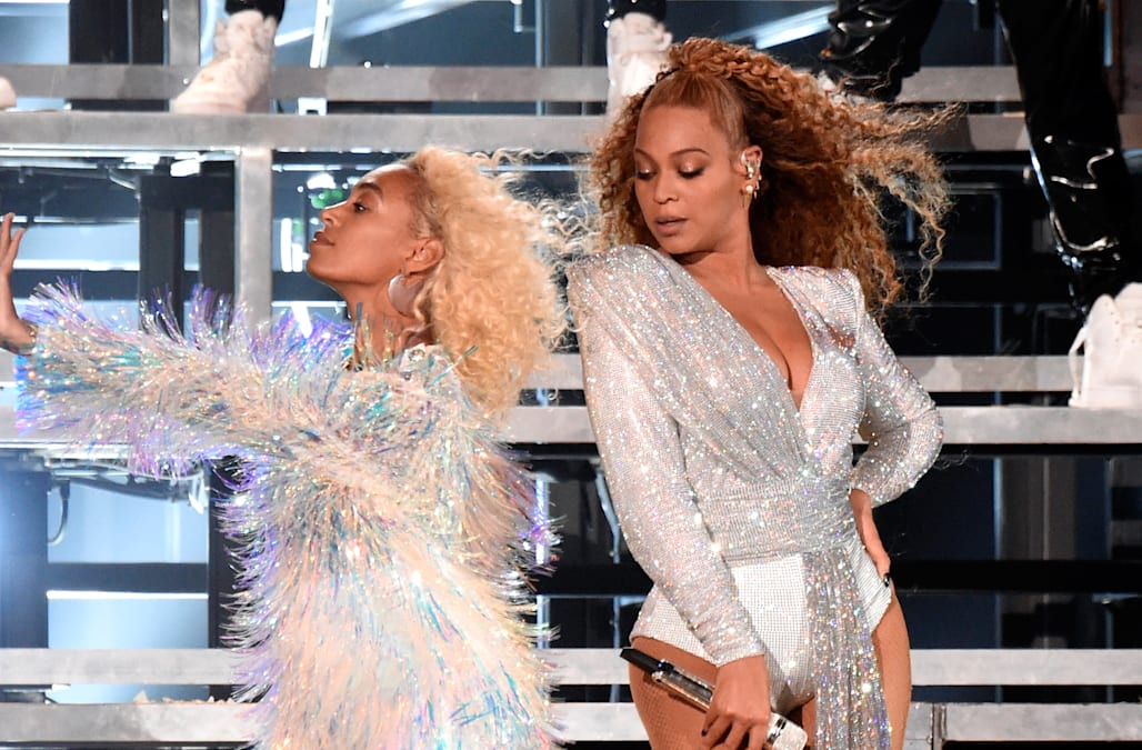 Image result for coachella 2018 beyonce solange