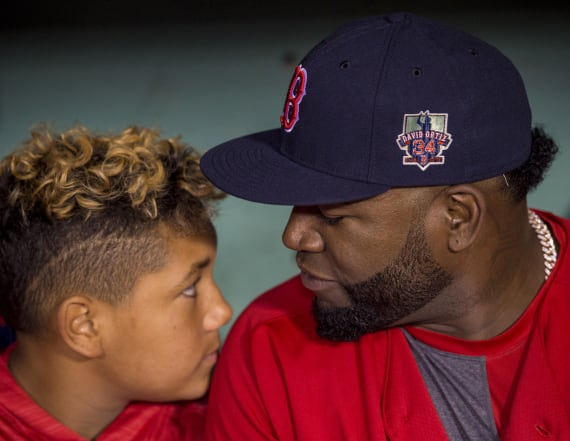 David Ortiz's kids post sweet Father's Day messages