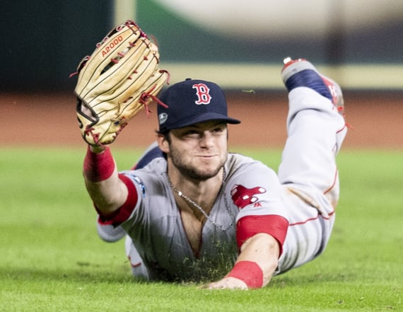 Andrew Benintendi saves Red Sox with amazing catch