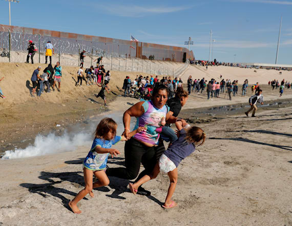 Top border security official defends use of tear gas