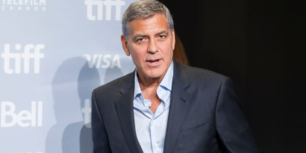 George Clooney attending a photo call at the Toronto International Film Festival for his movie 'Suburbicon'.