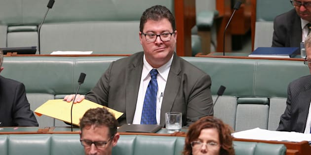 Member for Dawson George Christensen will refuse Syrian refugees in his region.