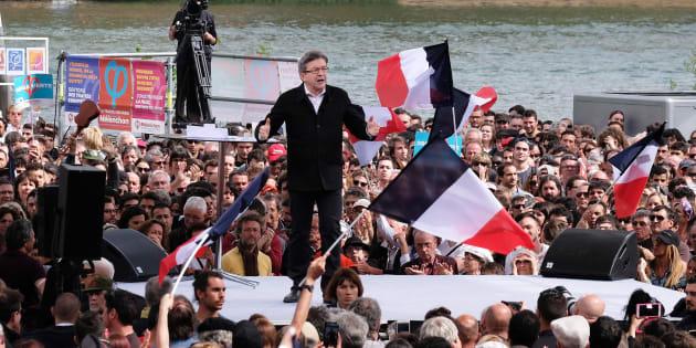 Jean-Luc Mélenchon a réussi son dernier grand meeting en plein air à Toulouse.