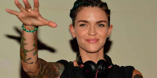 Ruby Rose DJ's at Gold Room on April 17, 2016 in Atlanta, Georgia.