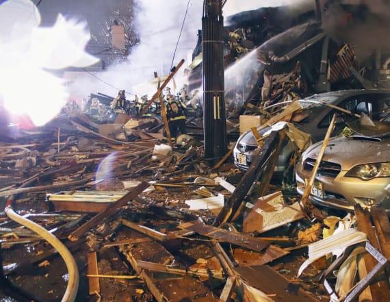 42 people injured in Japan explosion
