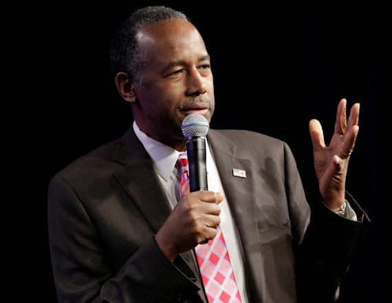 Carson says he thinks poverty is 'a state of mind'