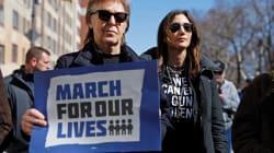 'Marcha pelas nossas Vidas': As imagens memoráveis de atos contra as armas em Nova