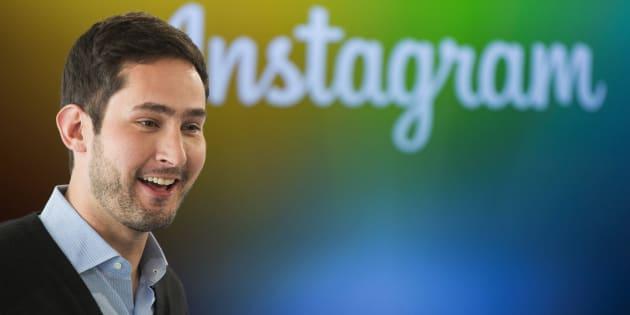 Kevin Systrom, directeur général (CEO) d'Instagram.